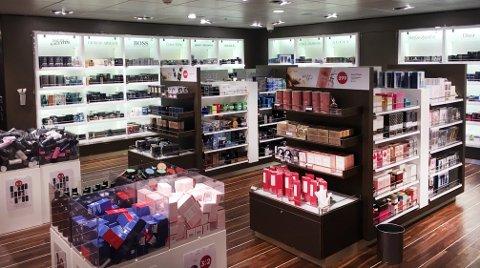 TAXFREE: Nå får du vite hva kundene på Fjord Line har som favoritter i taxfree-butikken om bord.