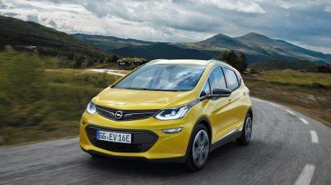 Opel Ampera-e er på vei.