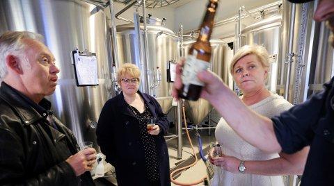 Petter Nome i Bryggeri- og drikkevareforeningen mener Siv Jensen og regjeringen bedriver en bevisstløs næringspolitikk.