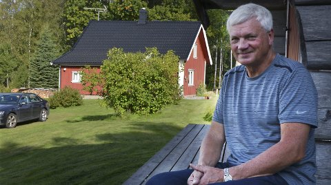 Trygves paradis: Trygve Westgård er fjerde generasjon på Havnås i Hærland. Her roer han ned etter hektiske politiske debatter og travle gjøremål. Havnås er et småbruk på drøyt 60 mål og nå Trygves fritidsparadis.