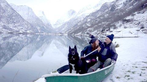 NABOSKAP: Weronika Kinga Nitsch sin dokumentarfilm om naboen Bjarne Magnar Sunde vart ein suksess, og er no nominert til Amanda-pris. (Pressefoto)