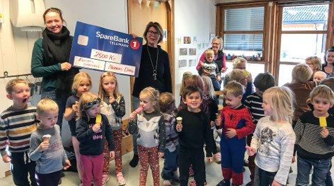 Vant: Frednes barnehage vant årets temakonkurranse foran den 74. Barnas dag i rekken.