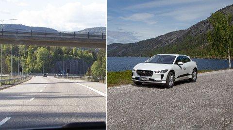 Bruker man mest strøm på å kjøre den raske, korte veien - eller den trege, lange veien? Foto: Magnus Blaker