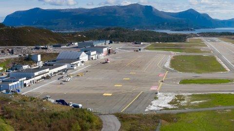Det blir forsinkelser i helikoptertrafikken på Kvernberget etter det fjerde uttaket i vekterstreiken. Bildet er tatt i august 2020.