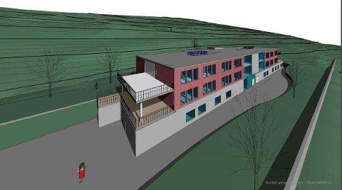 Nytt demenssenter: Det åpnes for at nye Aurdal Omsorgssenter kan bygges i massivtre.