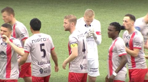 Kaptein: Kristian Jahr er kaptein for Strømmen i OBOS-ligaen. Her fra kampen lørdag heime mot Raufoss Fotball. Kristian Jahr har spilt både for Fagernes og Valdres FK i tidligere år, før han gikk til Kongsvinger og Notodden.