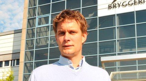 RETTSSAKPÅVENT:Kommunikasjonssjef Nicolay Bruusgaard i Ringnes avventer for ny innkalling fra Oslo tingrett.