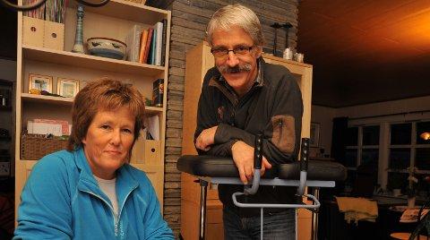 DRAMATIKK I 2010: Mette Olestad og Per Bjørn Lotherington, begge med en fortid i Varingen, opplevde en togavsporing på vei til Sverige, men ble heldigvis ikke alvorlig skadet.