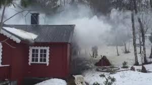 Det er viktig å brannsikre hytta.