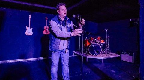 Ole Magnus Holm fotografert ved en tidligere anledning. På mandag blir det konsert på denne scena.