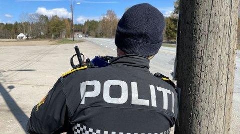 FLERE KONTROLLER: UP har hatt kontroll på Vinterbro torsdag.