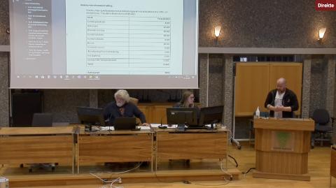 Forslag: Torgeir Reiten foreslo å utsette tildelingen av aktivitetstilskudd, og det var de andre politikerne enige i.