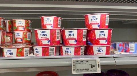 NYTT FORBUD: I starten av juli forsvant plutselig plastskjeen fra diverse produkter i butikken.