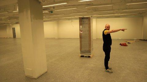 Dag Halvor Evjen har planer om å skape ein koseleg butikk.