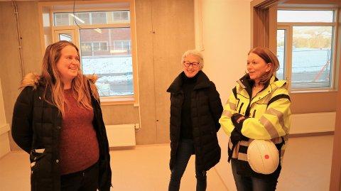Ingrid Tangerås og Erna Fosse har samarbeidd med Anne Hildegunn Færøy med å utvikle den nye legavakta.