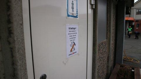 Dette toalettet er no midlertidig stengd.