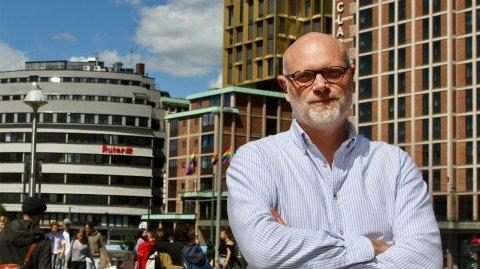 KOMISK: Geir Hammer er administrerende direktør i Swedish Match Norge, som produserer blant annet merket General snus.  Foto: Espen Teigen (Nettavisen)