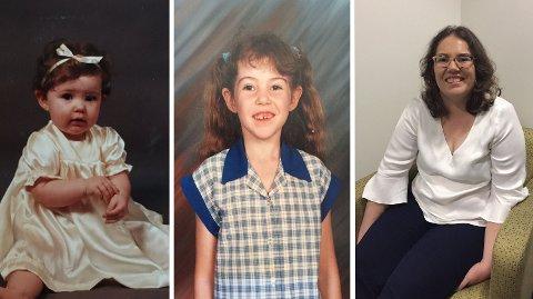 HSAM: Rebecca Sharrock har diagnosen HSAM, «høyt overordnet selvbiografisk minne», og husker hver dag av hele livet sitt.  Foto: Privat