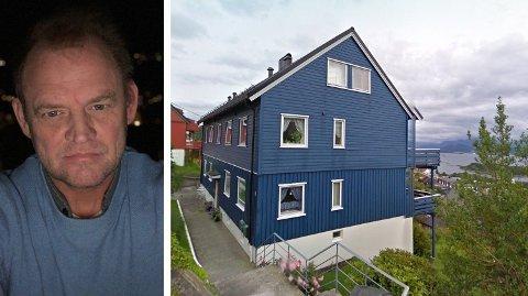 Vidar Antonsen i Ålesund er glad for at ikke naboene vant fram med søksmålet der de krevde at han skulle selge sin eierandel i huset. Foto: privat/Google