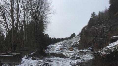 Ulykken skal ha skjedd i dette i området ved Grauo på Voss.