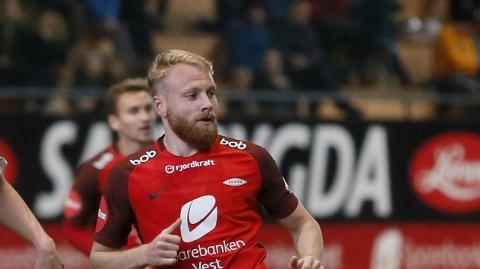 Henrik Kjelsrud Johansen håpet på eliteseriedebut for Brann mot Ranheim.