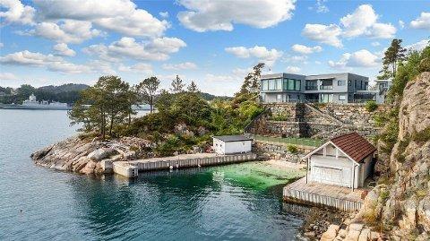 Boligen i Fyllingsdalen i Bergen selges for 30 millioner kroner. Foto: Z Megleren