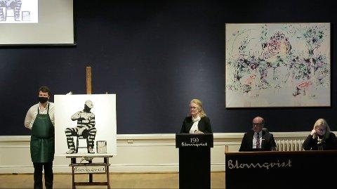 To Dolk-verk ble auksjonert bort ved auksjonshuset Blomqvist i desember.