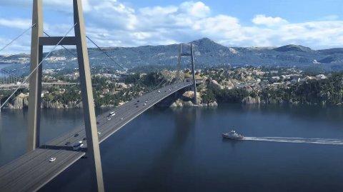 Tirsdag presenterte Statens vegvesen vinneren av konkurransen om å bygge milliardprosjektet Sotrasambandet.