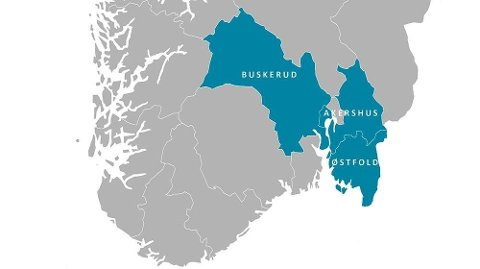 VIKEN: Finn-Erik Blakstad med et varmt forsvar for den nye regionen Viken som skal ta opp i seg fylkene Akershus, Buskerud og Østfold.