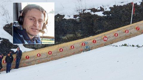 KREVENDE: Espen Bredesen vil gjerne se ny verdensrekord, men det vil bli svært krevende å slå verdensrekorden på 253,5 meter slik Vikersund-bakken er i dag.