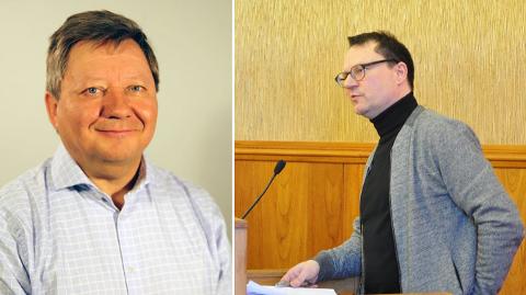 Jan Olli, direktør i FeFo og ordfører i Nordkapp kommune, Jan Olsen.