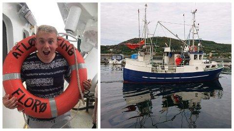 SATSAR: Einar Arne Norstrand kjøpte sin første båt og starta eige firma då han var 16. I fjor sommar kjøpte han ny båt, og driv fiske med den i tillegg til å vere lærling på ein større fiskebåt.