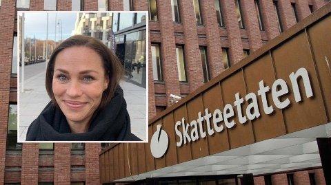SJEKK: – Det er unødvendig både å betale for mykje eller for lite skatt, og difor smart å sjekke at opplysningane i skattetrekkmeldinga stemmer, seier Cecilie Tvetenstrand, forbrukarøkonom i Danske Bank.