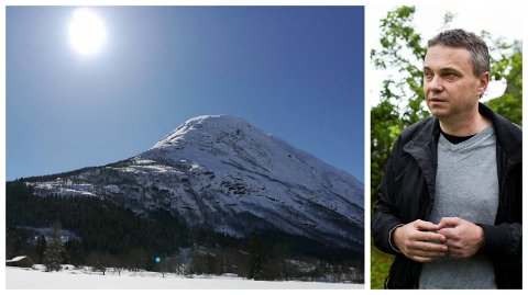 FLOTT, MEN FARLEG: Tortegrøegga i Stardalen er eit mykje brukt turområde. – Eg går ikkje så mykje på ski. Men opp der trur eg ikkje eg ville gått i dag uansett, seier Narve Heggheim.