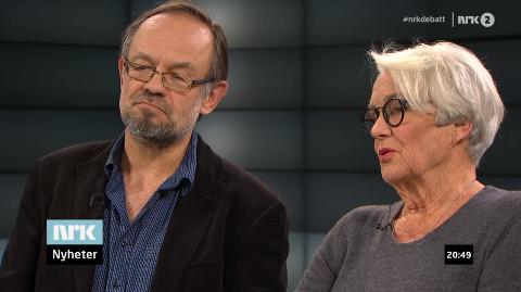Magne Aasbrenn møtte Ingeborg Moræus Hanssen i tv-debatt om østfolddialekten tidligere i uken.