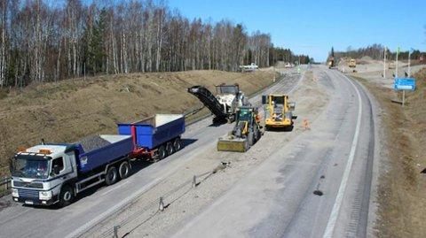 Ferdig: Nå er endelig arbeidet ferdigstilt og motorveien går sammenhengende fra Oslo til København. Foto: SR