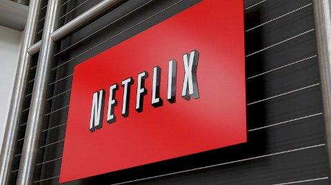 LEGGER FREM TALL: Netflix legger frem sterke tall tirsdag. Foto: AFP PHOTO / Ryan Anson