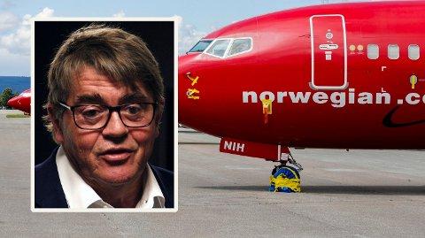 ORGE VIKTIGST: Hvis Norwegian går mot stupet, er det Norge som er viktigst, mener Jan Petter Sissener.