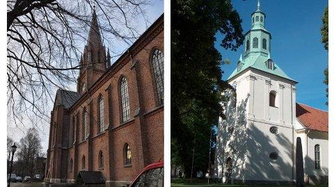 Delvis åpent. Domkirken og Østre Fredrikstad kirke vil holde åpent for publikum i påsken, men bare i en begrenset periode.
