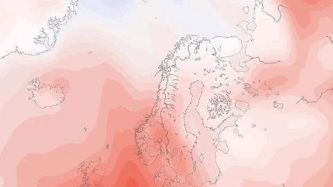 BADEVÆR? Den kommende uka, med pinsehelga, er det meldt flere dager med over 20 varmegrader.