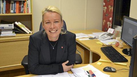 Ordfører Eva Ottesen.