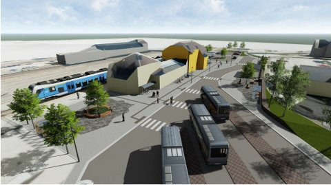 Otta skysstasjon får en ansiktsløftning neste år. Da skal det investeres 20 millioner på stasjonen.