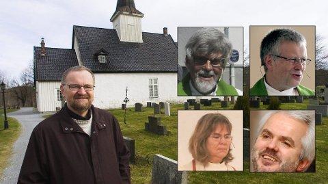 VIL IKKE VIE: Det er kun én av seks prester i Halden som vil vie likekjønnede par.