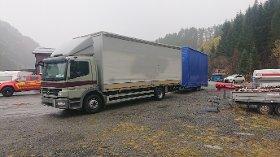 Den polske sjåføren ble stoppet på Seljestad.
