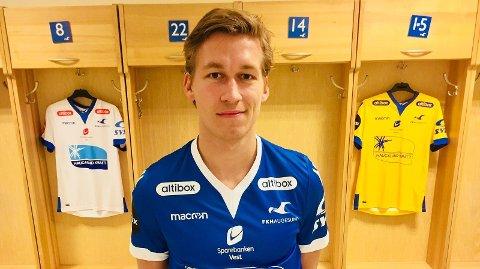 SIGNERT: 23 år gamle Niklas Sandberg kommer fra Start.