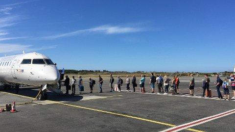 NYE RUTER: Portugal og Malta blir reisemål fra Haugesund Lufthavn. Operatøren Turs har enda en konkret destinasjon i ermet.