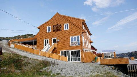 RØVÆR: Hotellet har hatt bra besøk i sommer, forteller daglig leder Reidunn Godtfredsen.
