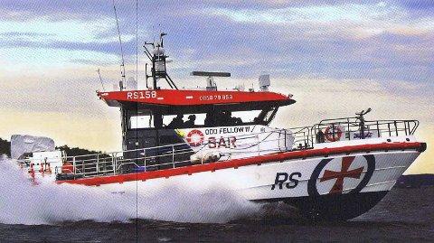 Den nye båten: Dette er den tredje båten som Odd Fellow bidrar i stor grad til å få bygget. 25 millioner kroner skal samles inn av losjene i Norge alene.