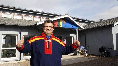Ordfører Knut Store kan glede seg over at Nesseby kommune også i år er en budsjettvinner. Men dem er det få av i Finnmark. Arkivbilde