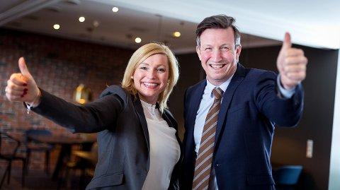 Prosjektdirektør Nina K. Jonassen og direktør i Petro Arctic, Kjell Giæver gleder seg over nyheten fra energi- og miljøkomiteen.